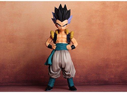19CM Anime Dragon Ball Z Super Saiyan Gotenks Action Figure Master Stars Piece Dragonball Figurine Collectible Model Toys (Ex Ball Dragon)