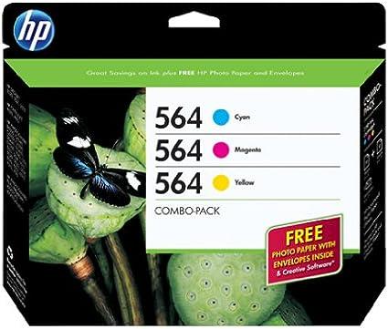 HP 564 Combo Creative Pack - Cartucho de Tinta para impresoras ...