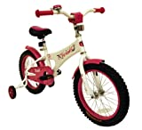 Verso by Kettler 16'' Bike with Removable Training Wheels: Starlet (Rose Pink), Youth Ages 4 to 7