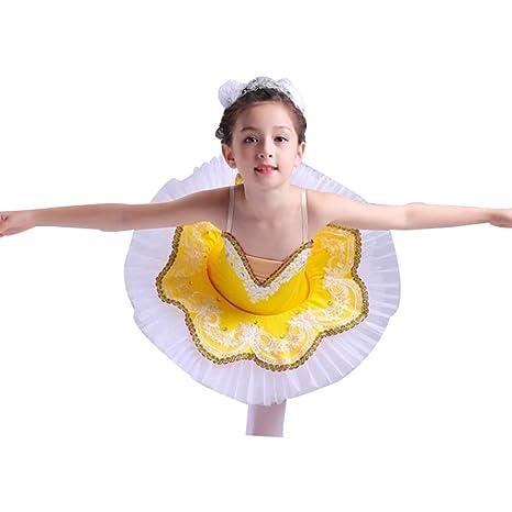 Xiao Jian- Traje de Ballet para niños Baile Rendimiento ...