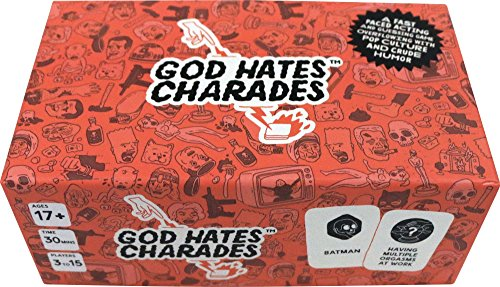 God Hates Charades Party Game