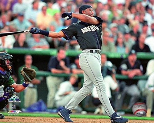 bad8ffedb0e Ken Griffey Jr. Home Run Derby 1998 MLB Action Photo (Size  20