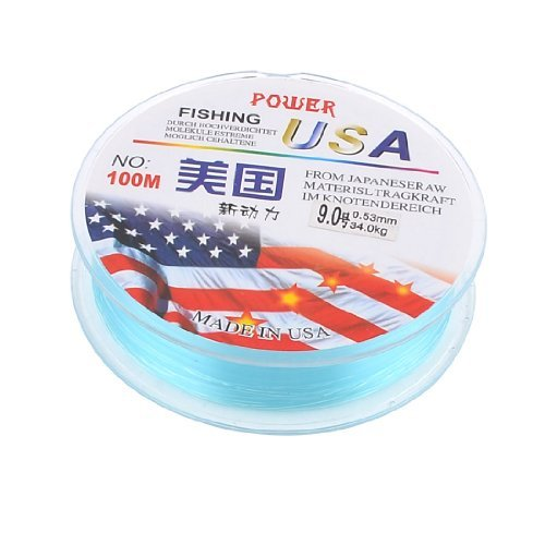 dealmux-100m-cyan-nylon-wearproof-freshwater-fishing-line-spool-9-053mm-34kg