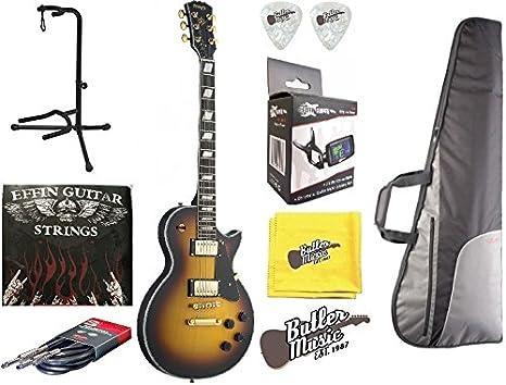 Stagg l400-ts – Vintage estilo Cutaway TSB guitarra eléctrica w ...