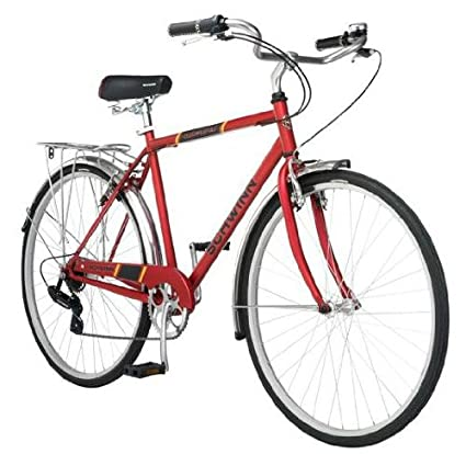 51a334880a5 Amazon.com : 700c Schwinn Admiral Hybrid Men's Leisure Bike : Sports &  Outdoors