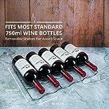 Schmecke 33 Bottle Dual Zone Wine Cooler