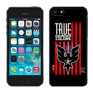 Fashionable And Antiskid Designed iPhone 5C Case MLS DC United For iPhone 5C Protective Skin Cover Case 10 Black