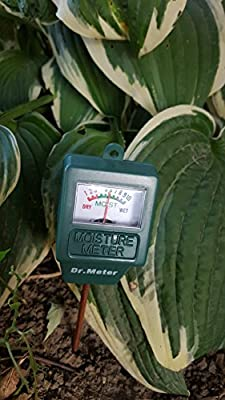 Dr.meter S10 Soil Moisture Sensor Meter Hygrometer-Garden,Farm,Lawn,Plants,Indoor&Outdoor(No Battery Needed)