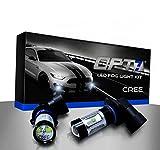 OPT7 CREE H11 LED DRL 5000K Bright White Fog Light Bulbs - Pack of 2