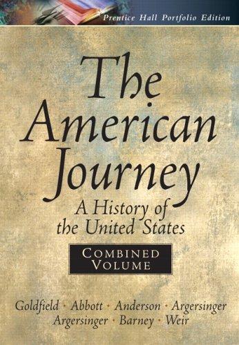 American Journey Portfolio, Combined