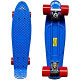 RIMABLE Complete 22'' Skateboard DARKBLUE