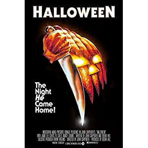 Buyartforless John Carpenters Halloween (1978) 36×24 Classic Horror Movie Art Print Poster The Night He Came Home!