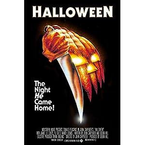Buyartforless John Carpenters Halloween (1978) 36×24 Classic Horror Movie Art Print Poster The Night He Came Home!