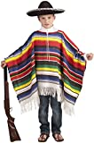 Mexican Poncho Kids Costume %2D Child St