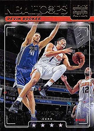 0500b0d5 2018-19 NBA Hoops Lights Camera Action Holo #26 Devin Booker Phoenix Suns  Official