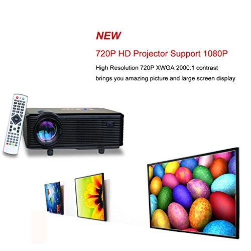 Aliexpress Com Buy Excelvan Cl720 Full Hd Home Theater: Excelvan CL720 HD Home Cinema Theater Multimedia Projector