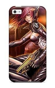Cute Tpu AnnaSanders Alien Sci Fi Fantasy Women Killer Gun Sunset Rider Lingerie Bike People Sci Fi Case Cover For Iphone 5c