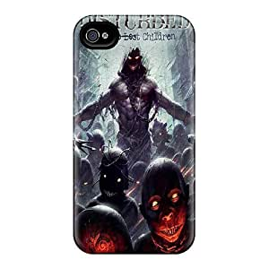 For BraventJohnason Iphone Protective Cases, High Quality For Iphone 4/4s Disturbed Skin Cases Covers