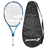 Babolat 2018 Drive 25 Junior Tennis Racquet - Strung with Cover