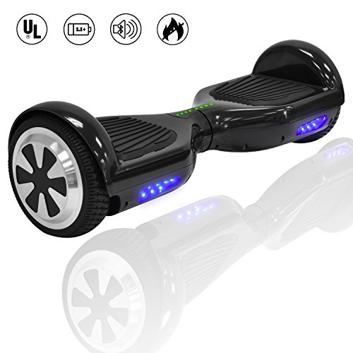 King Sports 6 5  Dual Motors Self Balancing Scooter Hoverboard W Bluetooth Speaker Led Lights  Ul2722 Certified