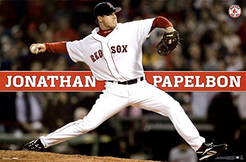 Boston Red Sox- Jonathan Papelbon Poster