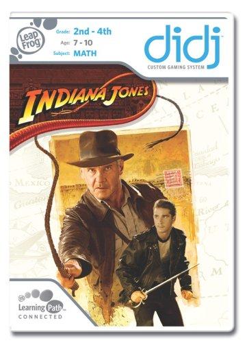 Leapfrog Didj Learning Game - LeapFrog  Didj Custom Learning Game Indiana Jones