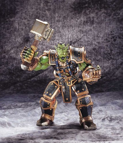 (Warcraft 3 Orc Warchief Action)