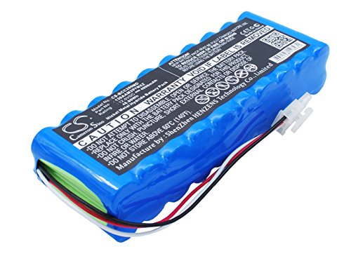 Replacement Battery for BIONET Cardio 7 ECG Monitor, Cardio M+, Cardio Touch 3000, Cardio Touch 3000 EKG, CardioCare 2000, Cardiocare 2000 ECG Monitor, CardioTouch 3000 ECG Monitor