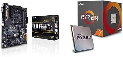 Pack Placa Base ASUS y Procesador AMD:TUF B450-PRO Gaming y AMD Ryzen 7 2700: Amazon.es: Informática