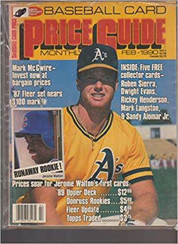 Sports Collectors Digest Baseball Card Price Guide Monthly