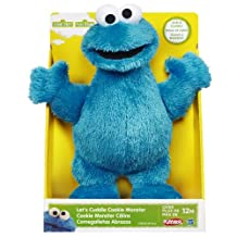 Sesame Street Let's Cuddle Cookie Monster