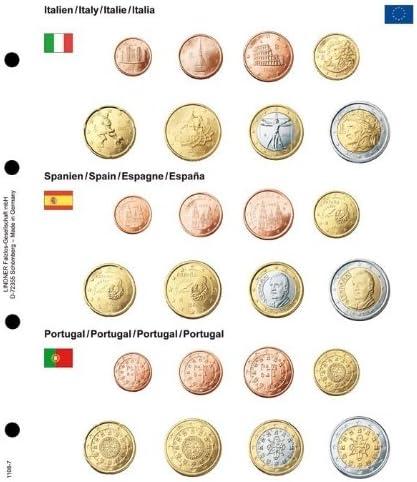 Hoja pre-impresa para juegos Euro del curso legal: Italia/España ...