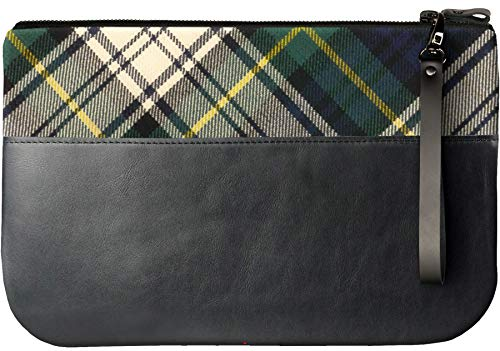With Enough iPad Gordon an Large to Tartan Medium Clutch Leather Fit Bag q06aaTO