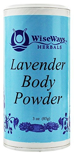 Wise Ways Herbals, Body Powder Lavender, 3 Ounce