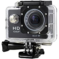TONSEE Mini 1080P Full HD DV Sports Recorder Car Waterproof Action Camera Camcorder, Black