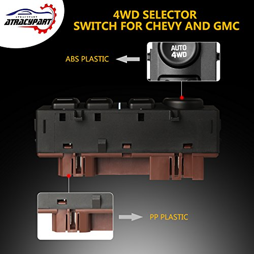 Selector Switch 15136039 For 03-06Tahoe Yukon Silverado Sierra Suburban Avalanch