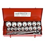 21 Pc Socket Set 1in. Drive SAE