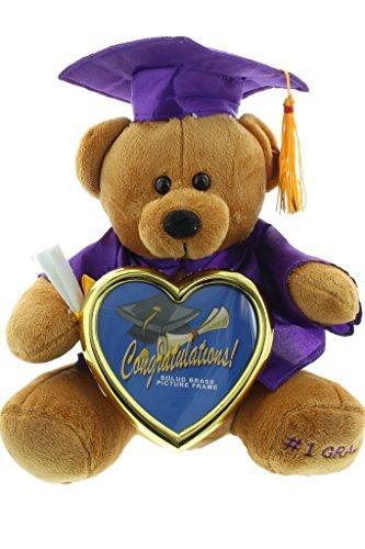 Graduation Photo Frame Teddy Bear product image