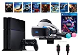 PlayStation VR Launch Bundle 9 Items:VR Launch Bundle,PS4 Call of Duty,7VR Game Disc Until Dawn,Rush of Blood,EVE:Valkyrie, Battlezone,Batman:Arkham VR,DriveClub,Eagle Flight,Combat League