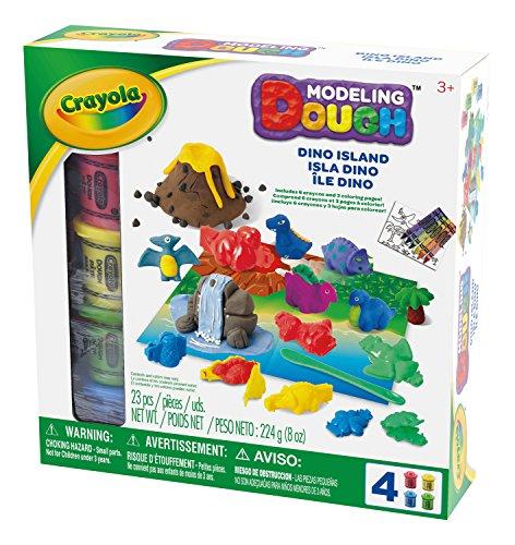 Crayola Modeling Dough Dino Island - 23 Pieces