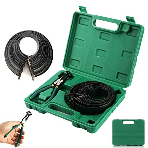 TOOGOO 62-145mm Motorcycle/Bike Piston Ring Clamp Compressing/Compressor Tool Kit