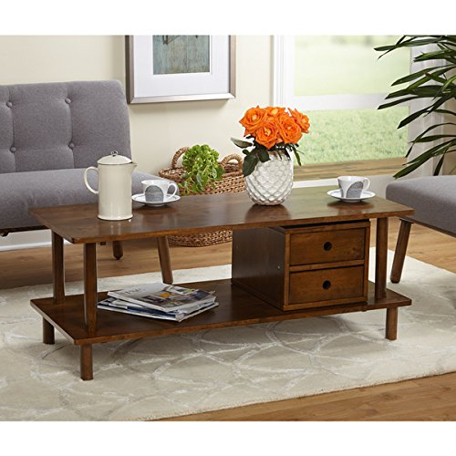 Simple Living Double Decker Storage TV Stand / Coffee Table