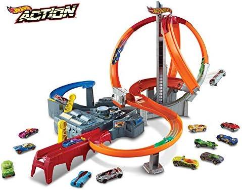 Hot Wheels Spin Storm Track Set [Amazon Exclusive] / Hot Wheels Spin Storm Track Set [Amazon Exclusive]
