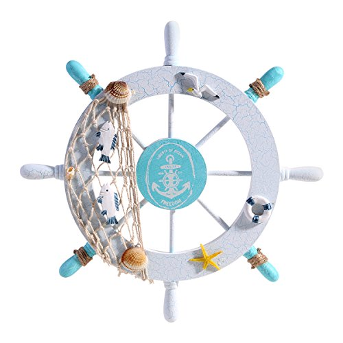 Tinksky Nautical Steering Christmas Decoration