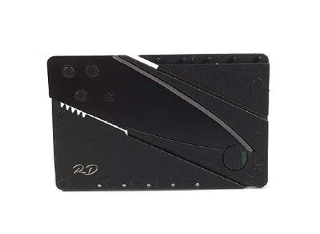 Amazon.com: Cuchillo plegable en forma de tarjeta de ...