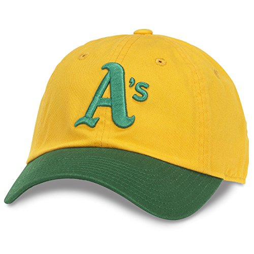 MLB Authentic Oakland Athletics Bleacher Seat Gold / Green Adjustable - Green Athletics Oakland
