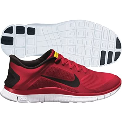 lowest price 45cf7 5a9ca Amazon.com   NIKE Free 4.0 V3 Livestrong Mens Running Shoes 586297-607 Gym  Red 12 M US   Road Running