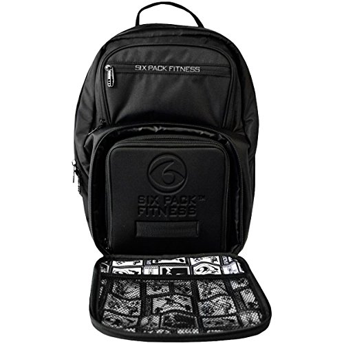 6 Pack Fitness Expedition 300 Stealth Black Bag BLACK by 6 Pack Fitness (Image #5)