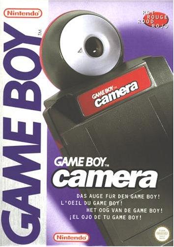 Nintendo Red Game Boy Camera (Game Boy Camera)