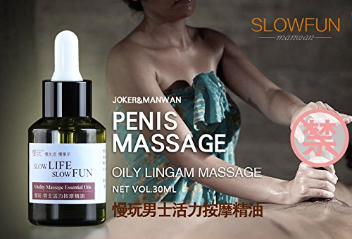 Lingam massage oil
